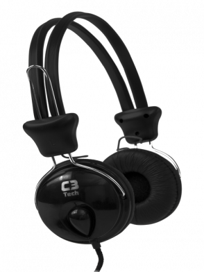 Headphone com Microfone C3 Tech Gamer Tricerix Plug P2